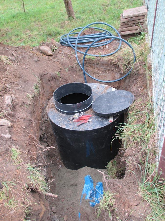 Kanalizace a vodovod